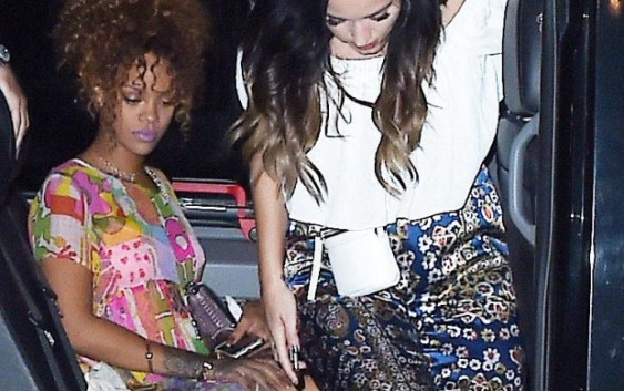 Pop's Princesses Party Together: Rihanna and Katy Perry Hit the Town in N.Y.C.